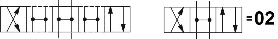 Гидрораспределитель Aron (Арон) AD5E02C, условный проход 10 мм., электромагнитный, золотниковый, дискретный, двухмагнитный