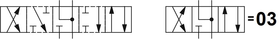 Гидрораспределитель Aron (Арон) AD5E03C, условный проход 10 мм., электромагнитный, золотниковый, дискретный, двухмагнитный
