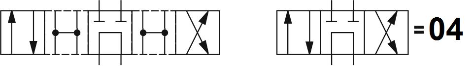 Гидрораспределитель Aron (Арон) AD5E04C, условный проход 10 мм., электромагнитный, золотниковый, дискретный, двухмагнитный