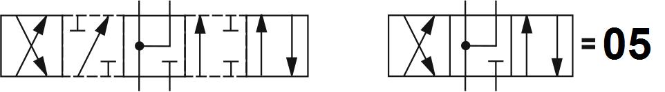 Гидрораспределитель Aron (Арон) AD5E05C, условный проход 10 мм., электромагнитный, золотниковый, дискретный, двухмагнитный
