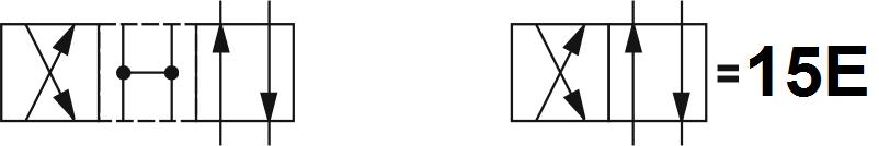 Гидрораспределитель Aron (Арон) AD5E15E, условный проход 10 мм., электромагнитный, золотниковый, дискретный, одномагнитный