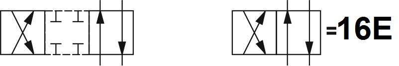 Гидрораспределитель Aron (Арон) AD5E16E, условный проход 10 мм., электромагнитный, золотниковый, дискретный, одномагнитный