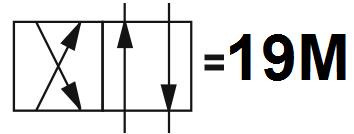 Гидрораспределитель Aron (Арон) AD5E19M, условный проход 10 мм., электромагнитный, золотниковый, дискретный, двухмагнитный