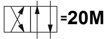 Гидрораспределитель Aron (Арон) AD3E20M, условный проход 6 мм., электромагнитный, золотниковый, дискретный, двухмагнитный