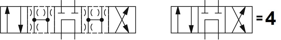Гидрораспределитель Atos (Атос) DKE-1714, условный проход 10 мм., электромагнитный, золотниковый, дискретный, двухмагнитный